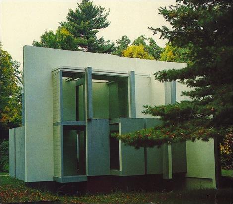 Eisenman, House VI, Washington, Connecticut, 1975