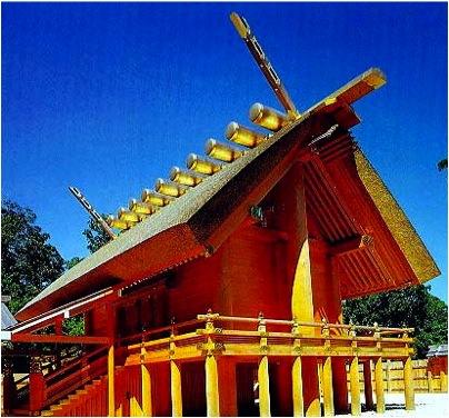Shrine Shrine at Ise, Japan