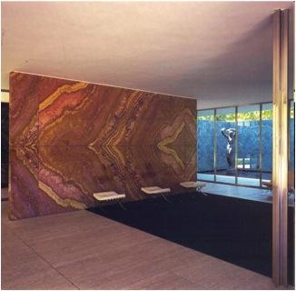 Mies, Barcelona Pavilion