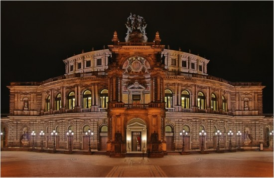 Semper's Dresden Opera House