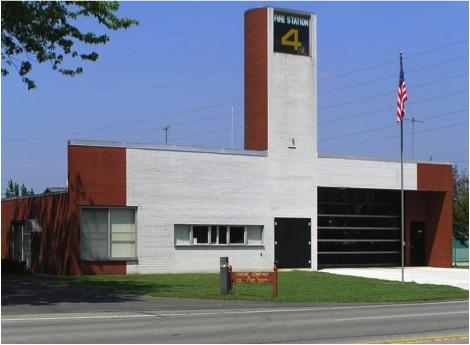 Robert Venturi, Fire Station #4, Columbus, Indiana