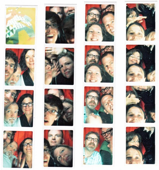 Photobooth portraits of DesignCity participants