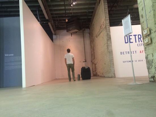 Ben Van Dyke at MOCAD