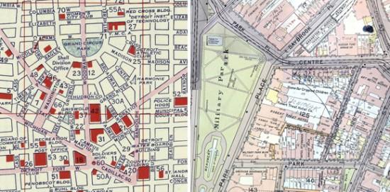 Detroit Newark Map details